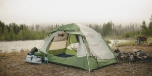 camping family tent