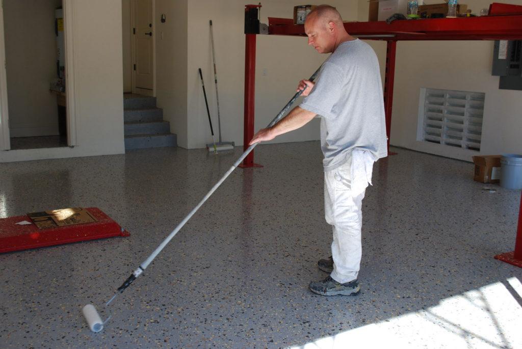 garage floor rolls